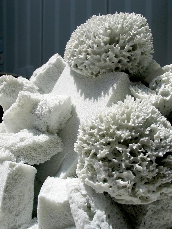 Eponges porcelaine